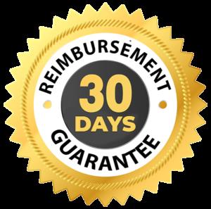 Garantie de remboursement de 30 jours